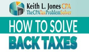 how to solve back taxes