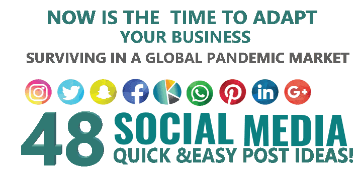 48 Social Media Quick and easy post ideas